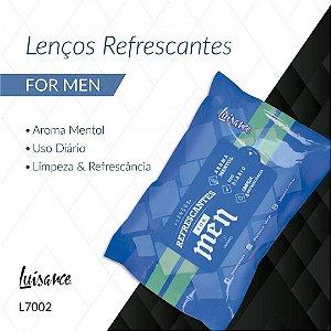 Lenço Refrescante para Limpeza Facial for Men Luisance L7002A  ( 12 Unidades )