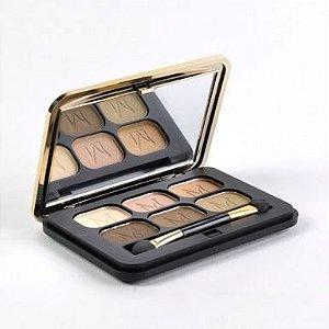 Paleta de Sombras Luxo Fashion Matte Miss Rose Cor 02 ( Profissional Make-up )
