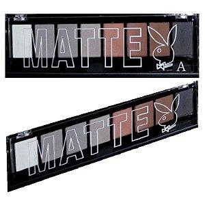 Paleta de Sombras Matte 8 Tons Playboy HB89651A