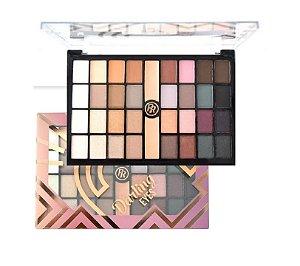 Paleta de Sombras 32 Cores e Primer Darling Eyes Ruby Rose HB9978