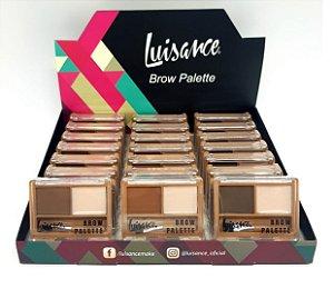 Kit para Sobrancelhas Palette Brow Luisance L2028 ( Display 24 Unidades )