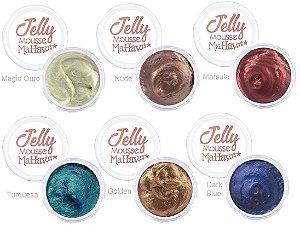 Sombra em Gel Jelly Mousse Mahav Kit 01 ( Kit com 6 Unidades)