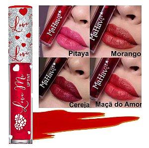 Mahav - Lip Tint Love Me  - Kit C/ 4 Unid ( 1 de cada cor )