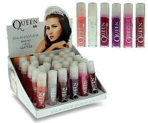 Brilho Labial Glitter Queen ( 30 Unidades )