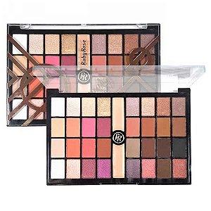 Paleta de Sombras com Primer Sweety Eyes Ruby Rose HB 9972