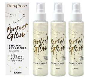 Bruma Fixadora Perfect Glow Ruby Rose HB334 ( 12 Unidades )