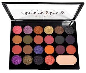 Paleta de Sombras 22 Cores e Primer Amazing Ruby Rose HB1004
