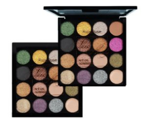 Paleta De Sombras 15 Cores The Night Party Ruby Rose HB1019
