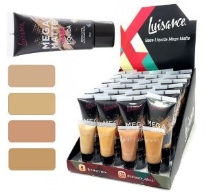 Base Mega Matte Alta Cobertura Luisance L660 A Cores Claras ( 24 Unidades + Provador )