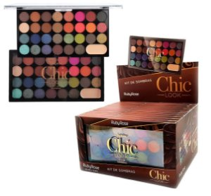 Paleta de Sombras Chic Look Ruby Rose HB 1041 ( Box C /12 Unidades )