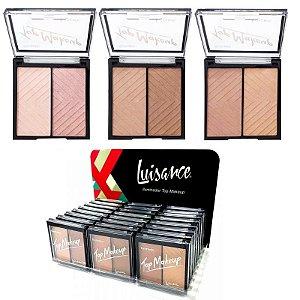 Iluminador Duo Top Makeup L1039 Luisance ( 24 Unidades )