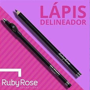 01 Lápis de Olho Preto Ruby Rose 091