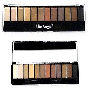 Paleta de Sombras Matte Belle Angel B012-5
