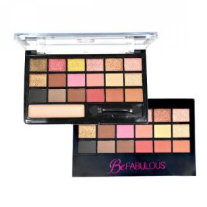 Paleta de Sombras Be Fabulous Ruby Rose HB 9931 ( 12 Unidades )