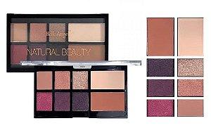 Paleta de Sombras e Contorno Natural Beauty Belle Angel T012