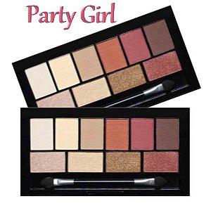 Paleta de Sombras Party Girl CG119 - Cor A
