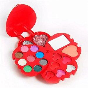 Luisance - Kit de Maquiagem Coração Turma da Lu LT298