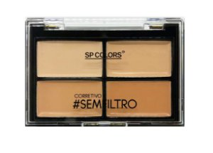 Quarteto de Corretivo #semfiltro Facial 4 Tons SP Colors SP091