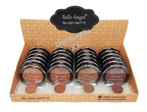 Display de Blush Matte Belle Angel B011 ( 24 Unidades )