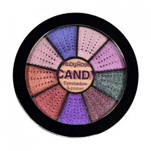 Paleta de Sombras + Primer Candy Ruby Rose HB-9986-2