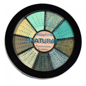 Paleta de Sombras + Primer Natural Ruby Rose HB-9986-4