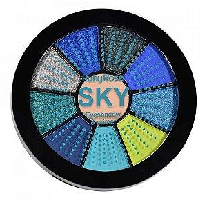 Paleta de Sombras + Primer Sky Ruby Rose HB-9986-5