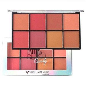 Bella Femme - Paleta de Blush Cardy 8 Tons BF10057