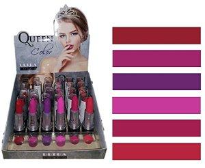 06 Batom de Luxo Ultra Fosco Color Queen