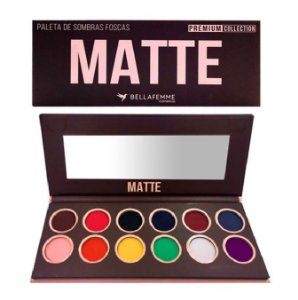 Paleta de Sombras Premium Collection Matte BF10065