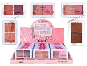 Blush Duo New Vibe Ruby Rose HB6114 ( 36 Unidades )