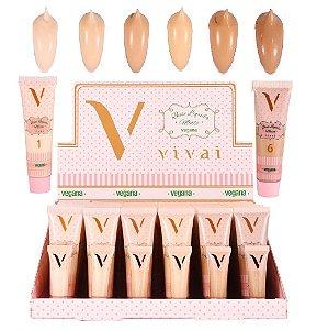 Nova Base Vegana Matte Vivai 1056.4.1 ( 36 Unidades + Provadores )