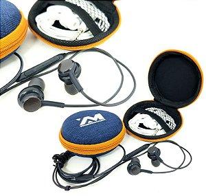 Fone de Ouvido com Microfone e COntrole de Volume MAx Midia MAx-07
