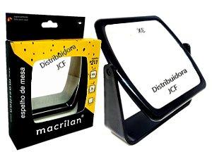 Macrilan - Espelho de Mesa Duplo Natural e com Aumento ES01
