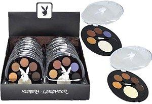 Quinteto de Sombras Matte e Iluminador Playboy HB 89773 ( 12 unidades )