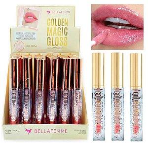 Golden Magic Gloss Labial Bella Femme BF10080 ( 24 Unidades )