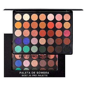 Paleta Grande de Sombras Best 35 Pro SP Colors SP120 ( 4 Unidades )
