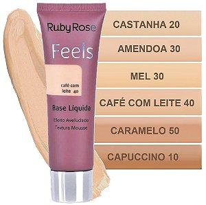 Ruby Rose - Nova Base Mousse Feels  HB8053 ( 6 Cores )