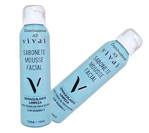 Sabonete Mousse Facial Vitamina E Vivai 5029 ( 12 Unidades )