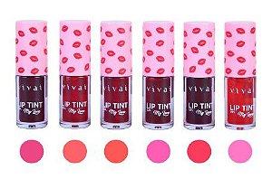 Lip Tint Gel 6 Cores Vivai 3080 ( 6 Unidades )