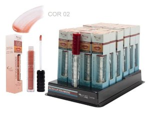 DIsplay Lip Gloss Volumoso 02 Max love ( 32 Unidades + Provador )