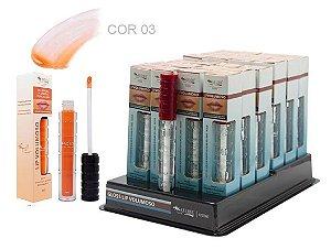 DIsplay Lip Gloss Volumoso 03 Max love ( 24 Unidades + Provador )