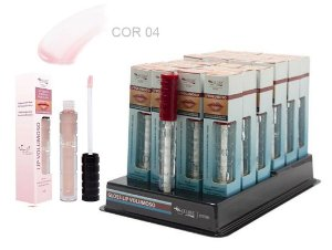 DIsplay Lip Gloss Volumoso 04 Max love ( 32 Unidades + Provador )