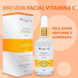 Novo Serum Facial Vitamina C Max Love ( 24 Unidades )