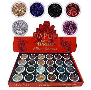 Glitter Flocado Dapop DP2075 ( 24 Unidades )