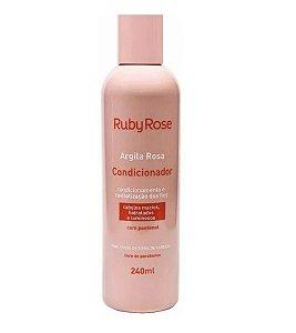Condicionador Argila Rosa Ruby Rose HB801 - Kit com 4 Unidades