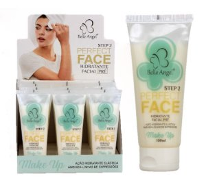 HIdratante Facial Pré Perfect Face Belle Angel I008 - Display com 12 Unidades