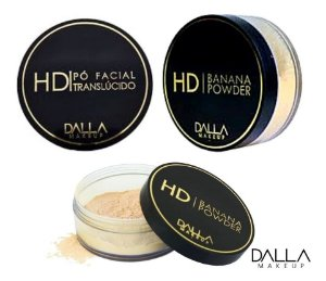 Pó Facial Vegano HD Banana Powder Dalla Makeup DL0109