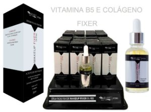 Serum Fixer com Vitamina B5 e Colágeno - Display com 24 Unid + Prov