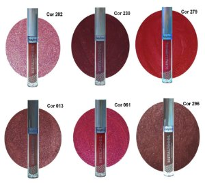 Batom Liquido Matte Metalicool Ruby Rose HB8219 Group 3 - Kit com 6 Unid