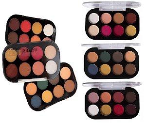 Paleta de Sombras 8 Cores Dapop HB96624 - Kit com 3 Unid